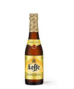 Cerveja Leffe Blonde 330ml c/ 24 unidades