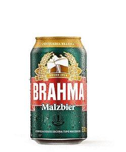 Brahma Malzbier Descartável - Lata 350ml c/12 unidades