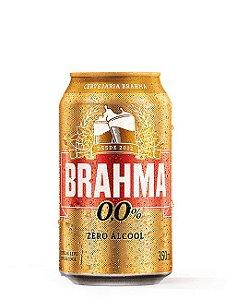 Brahma Zero Descartável - Lata 350ml c/12 unidades