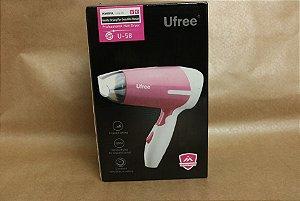 Mini secador de cabelos para viagens 110v