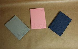 Capa de passaporte em pvc cores sortidas