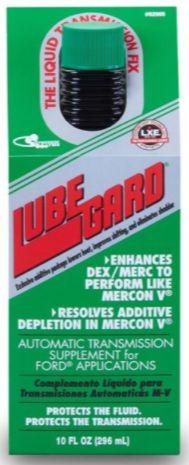 LUBEGARD M-V ATF MERCON V Supplement for FORD #62005