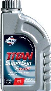 Óleo Lubrificante para Motor TITAN SuperSyn F Eco-DT 5W30 Gas Flex Diesel - FORD 913-D / MB / VW / LAND ROVER