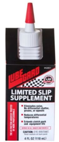 LUBEGARD LIMITED SLIP SUPPLEMENT 118ml - Elimina vibração no diferencial e reduz temperatura