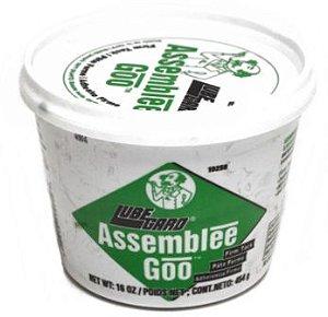 LUBEGARD Assemblee Goo GREEN 454 g - Lubrificante para montagem de transmissão e motor