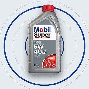 Óleo de motor MOBIL SUPER 3000 X5 5W40 VW 508.88 509.99 - Gas Flex Diesel