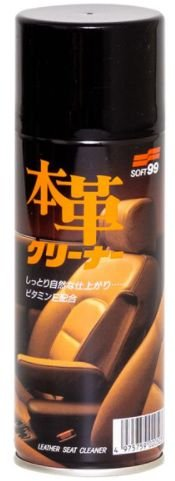 Limpa Couro Spray LEATHER SEAT CLEANER MOUSE 300 ml
