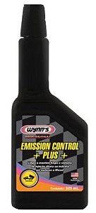 Limpa bicos e sistema de Injeção Diesel - Wynn´s Emission Control + PLUS + Biodiesel - 325 ml Trata 80 litros
