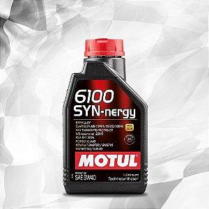 MOTUL 6100 SYN-nergy SAE 5W40 - Gasolina, Etanol, FLEX e Diesel (ACEA A3/B4)