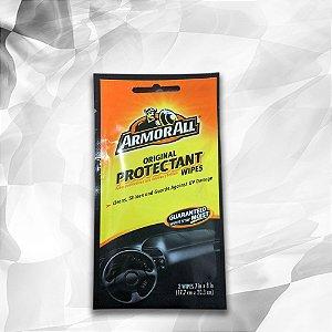 Lenços Umedecidos para Limpeza e Proteção - Original Protectant Wipes Armor All - 2 Wipes