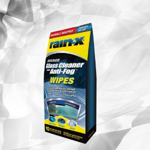 Rain-X Lenço Anti-Embaçante (Cx com 10 Unidades) – Glass Cleaner with Anti-Fog