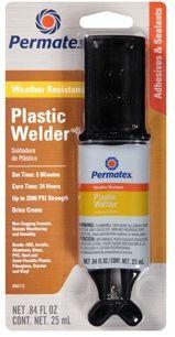 Adesivo Epoxi Solda Plásticos - Permatex Plastic Welder 25 ml (PX84115)