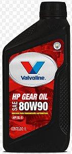 Óleo de Câmbio Valvoline 80W90 API GL-5 HP GEAR OIL 1 lt