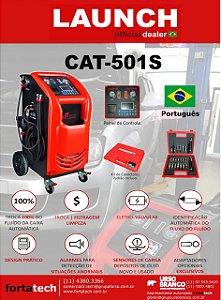 Máquina para Troca do Fluído de Transmissão Automática BIVOLT LAUNCH CAT-501S