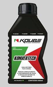 KOUBE Konvertech 500 ml - Removedor de óleo e graxa do Sistema de Arrefecimento