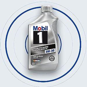 MOBIL 1 5W30 946 ml - Lubrificante Sintético para Motor a Gasolina Flex Diesel