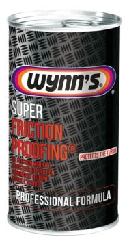 Wynn´s Super FRICTION PROOFING 325 ml - Modificador de fricção de óleo - Protege o Turbo