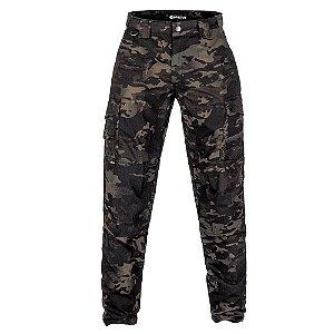 Calça Militar Tática Guardian Multicam Black Forças Especiais Invictus