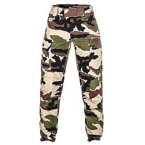 Calça Militar Tática Combat Camuflado Francês Forças Especiais Invictus
