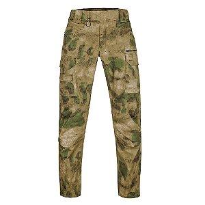 Calça Militar Tática Combat Camuflado A-Tacs FG Forças Especiais Invictus
