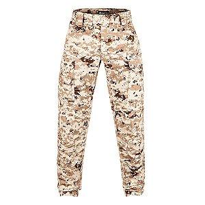Calça Militar Tática Combat Camuflado Digital Deserto Forças Especiais Invictus