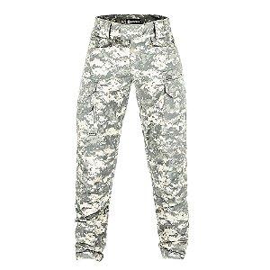 Calça Militar Tática Combat Camuflado Digital ACU Forças Especiais Invictus