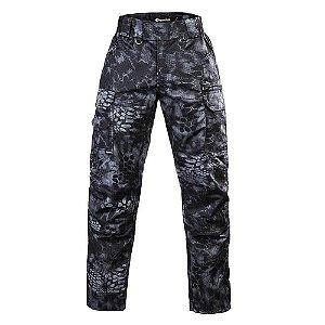 Calça Militar Tática Combat Camuflado Kryptec Typhon Forças Especiais Invictus