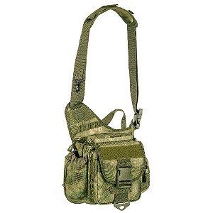 Bolsa de Ombro Militar Urban Camuflada A-Tacs FG Invictus