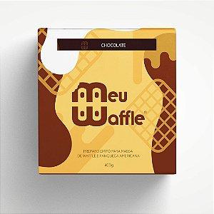 Preparo em pó para massa de Waffle e Panqueca Americana - Sabor CHOCOLATE