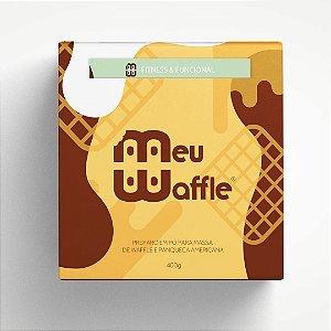Preparo em pó para massa de Waffle e Panqueca Americana - Enriquecida com FARINHA DE AVEIA