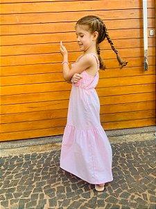 Vestido Annecy Rosa