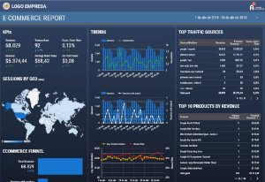Template Dashboard E-commerce II