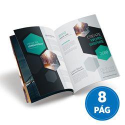 100 Revistas ou Catálogo 8 Páginas