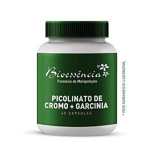 Picolinato de Cromo + Garcinia 60 Capsulas
