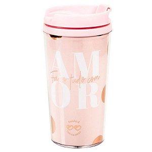 Copo térmico Pop cor de rosa - DIVA