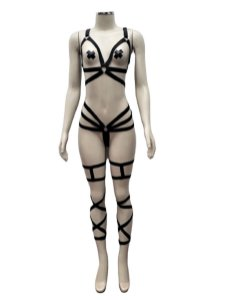 Conjunto de pole dance 6 pçs Almah Fashion