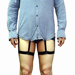 Suspensorio segura camisa modelo U