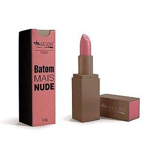Batom Mais Nude - Max Love