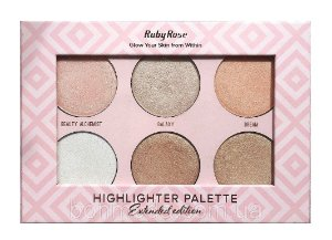 ILUMINADOR PALETA HIGHLIGHTER PALETTE RUBY ROSE