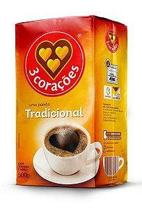 Café em Pó 3 Corações 500g