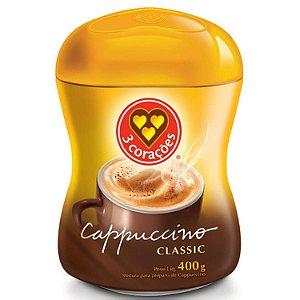 Cappuccino 3 corações classic pote 400 g - Três Corações