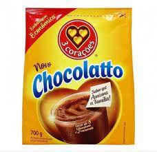 Achocolatado em Pó Chocolatto 3 CORAÇÕES Sachê 700g