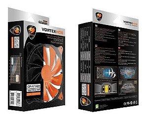 Cougar Vortex CF-V14h 140mm Hydro Dynamic Bearing Case Fan (orange)