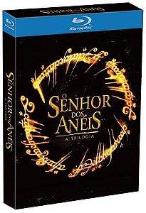 Trilogia o Senhor Dos Anéis - Blu-Ray - 3 Discos