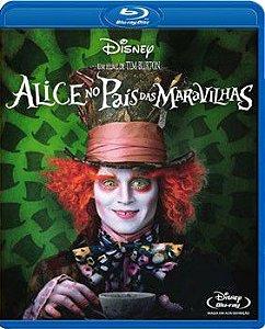 Alice no País das Maravilhas - BLU RAY - Usado zero.