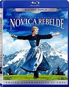 BLU-RAY - NOVIÇA REBELDE - Blu ray duplo.