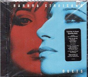 Barbara Streisand - CD Duets - Importado USA