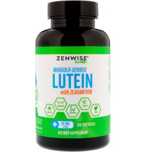 Luteína c/ Zeaxantina (Alta Concentração 20mg) - 120 softgels