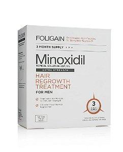 Foligain Minoxidil 5% - kit c/ 3 Frascos de 60ml