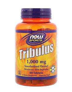 Tribulus NOW 1000mg (alta concentração) - 90 Tabs